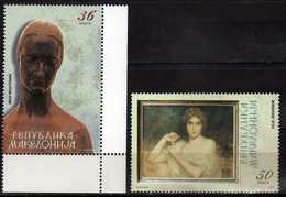 MACEDONIA 2005 Fine Artworks Of Foreign Painters In Macedonian Collections, Ivan Mestrovik,ART. MNH - Macédoine