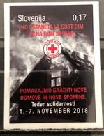 Slovenia, 2018, Charity Stamp (Solidarity Week)  (MNH) - Slovenia
