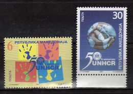 MACEDONIA 2001 The 50th Anniversary Of UNHCR.  MNH - Macédoine