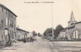 CPA - Lubey - La Grande Rue - Altri Comuni
