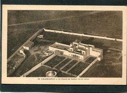 CPA - CASABLANCA - Le Palais Du Sultan Vu En Avion - Casablanca