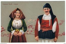 LANUSEI (NU):  COSTUMI  SARDI  -  FP - Costumi