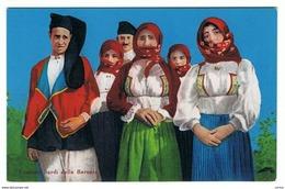 BARONIA (NU):  COSTUMI  SARDI  -  FP - Costumi