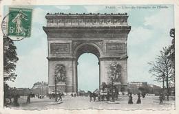 Paris : L'arc-de-triomphe De L'étoile ( Colorisée ) - Arc De Triomphe