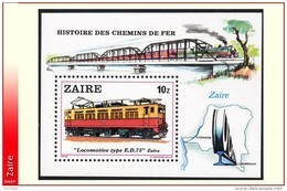 Zaire BL 037**  Locomotive MNH - Zaïre