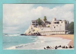 Small Old Post Card Of Christiansborg Castle,Accra,Ghana,V66. - Ghana - Gold Coast