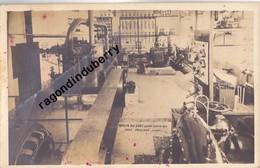 CPA PHOTO - 39 - MOULIN-du-SAUT (Jura) - INTERIEUR De L'USINE LECTRIQUE Près De NOZEROY - CARTE RARE 1920 1930 Env - - France