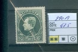 290A Xx Côte 475.00€ - 1929-1941 Big Montenez