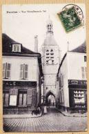 X77138 PROVINS Banque Société Générale Porcelaine Tour NOTRE-DAME Du VAL N.D 1910 à Popaul RIPAULT  Montargis - Provins