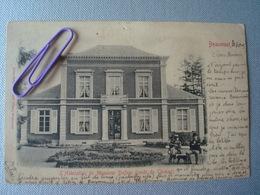 BEAUMONT : L'habitation De Mr DUFOUR Route De CHIMAY En 1905 - Beaumont