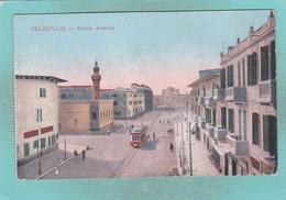 Small Old Post Card Of Abbas Avenue,Heliopolis,Cairo,Egypt,V66. - Cairo