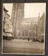 PHOTO ORIGINALE AVRIL 1927 - BELGIQUE - MALINES LA CATHEDRALE - Lieux