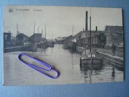 LA LOUVIERE : Le Canal  En 1915 - La Louvière