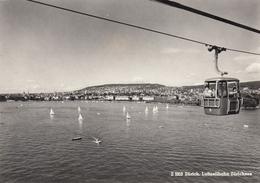 Zurich - Luftseilbahn Zirichsee , Seilbahn , JAZZ Festival 1964 - ZH Zurich