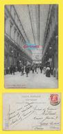 CPA BRUXELLES ֎ Galerie Du ROI  ֎ 1906 ֎ Timbrée Léopold II 10c., Rouge Y&T N°74 ֎ - Marchés