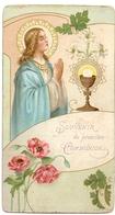 Devotie - Devotion - Communie Communion - Marie Dekeyzer - Saint Genois 1907 - Communion