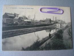 LA LOUVIERE : Le Canal Et Les Usines BOËL En 1910 - La Louvière