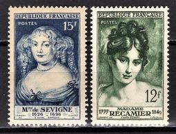 FRANCE 1950 -  Y.T. N° 874 / 875 - NEUFS** /4 - France