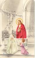 Devotie - Devotion - Communie Communion - Monique Tant - Houthulst 1955 - Communion