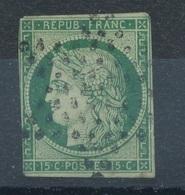 N°2 ETOILE PLEINE - 1849-1850 Cérès