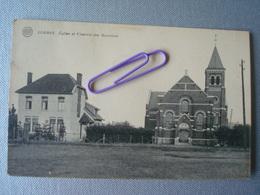 LOBBES : Eglise Et Vicairie Des BONNIERS  En 1921 - Lobbes