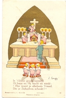 Devotie - Devotion - Communie Communion - Hugo & Wilfried Dekyen - Menen 1941 - Communion