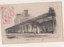 CPA 70. LUXEUIL Les BAINS. La Gare - Luxeuil Les Bains