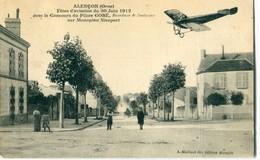61 - Alençon : Fêtes D' Aviation Avec Le Concours Du Pilote GOBE - Alencon