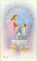 Devotie - Devotion - Communie Communion - Bernard Vandenabeele - Veurne 1952 - Communion