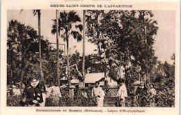 ASIE - BIRMANIE -- Soeurs St Joseph De L'Apparition - - Normaliennes De Bassein - Leçon D'Horticulture - Myanmar (Burma)