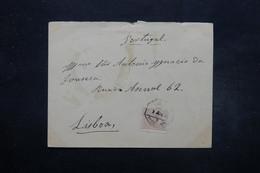 ESPAGNE - Enveloppe Pour Lisbonne En 1892 , Affranchissement Plaisant - L 27666 - 1889-1931 Royaume: Alphonse XIII