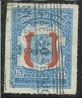 PERU' 1954 Congreso Eucaristico Nacional Y Mariano, CONGRESS CONGRESSO CENT. 5 5c  USATO USED OBLITERE' - Perù
