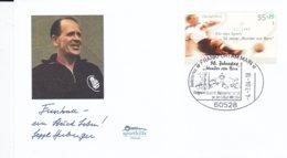 Germany Cover Franked W/2004 Wunder Von Bern P/m Frankfurt Am Main 2004 Wunder Von Bern 1954 (DD4-38) - 1954 – Zwitserland