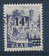 SARRE - SAAR - Mi Nr 236 II - Gestempeld/oblitéré - Cote 17,50 € - 1947-56 Occupation Alliée