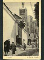 CPA - TANGER - La Grande Mosquée, Animé - Tanger