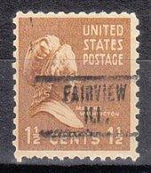 USA Precancel Vorausentwertung Preo, Locals Illinois, Fairview 734 - Vereinigte Staaten