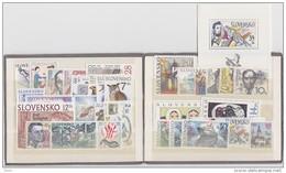 Année 1994 Complète Neuve /  Complete Year 1994 Mint / YT 152/179 + BF3 / Mi 187/215 + B2 - Slovaquie