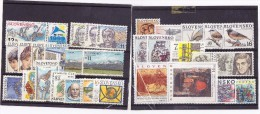 Année 1999 Neuve Sans BF /  Complete Year 1999 Mint Without Sheet / YT 286/311  / Mi 329/358 - Slovaquie