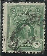 PERU' 1909 CHRISTOPH COLON COLUMBUS CRISTOFORO COLOMBO CENT. 2c USATO USED OBLITERE' - Perù