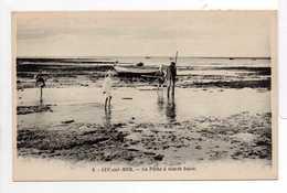 - CPA LUC-SUR-MER (14) - La Pêche à Marée Basse (avec Personnages) - Edition G. Artaud N° 8 - - Luc Sur Mer