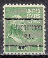 USA Precancel Vorausentwertung Preo, Locals Illinois, Flossmoor 713 - Vereinigte Staaten
