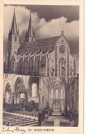 718/ Luxembourg, Esch-Alzig, St. Josef-kirche - Cartes Postales