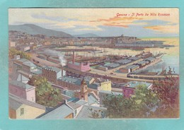 Small Old Post Card Of Genova,Genoa, Liguria, Italy,V66. - Genova (Genoa)