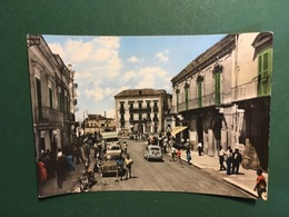Cartolina Spinazzola - Bari - Corso Umberto I E Piazza Plebiscito - 1960 - Bari