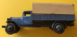 Jouet Ancien Camion Bâche DINKY TOYS MECCANO France - Jugetes Antiguos