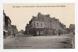 - CPA LISIEUX (14) - La Place Fournet - Vue Sur La Rue De La Gare Et Rue Fournet - Edition Libr. Blanche N° 39 - - Lisieux