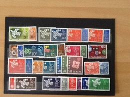 Europa CEPT Year 1961 MNH - Timbres