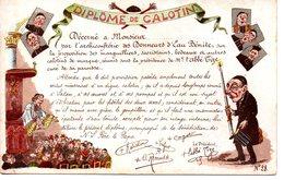 Religion : Carte Anticéricale : Diplome De Calotin - Non Classificati