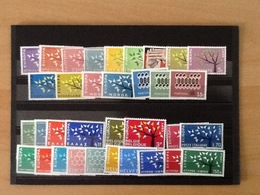 Europa CEPT Year 1962 MNH - Timbres