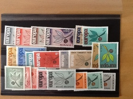 Europa CEPT Year 1965 MNH - Timbres